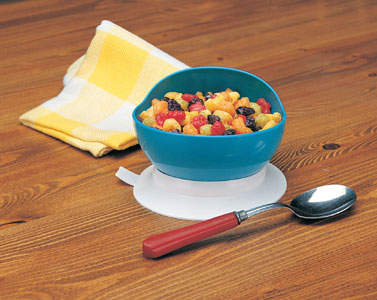 Scooper Bowl with Suction Base