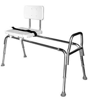 Snap-N-Save Extra Long Sliding Transfer Bench