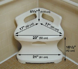 Corner Shower Seat - Discontinued