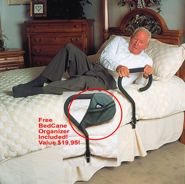 Adjustable Bed Base >> Bed Cane :: helps get out of bed
