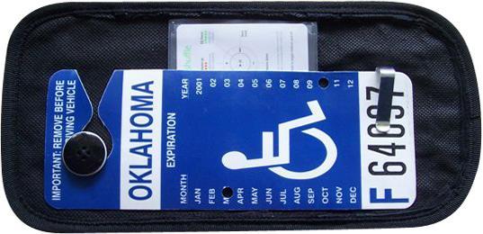 Handi Card Visor Display For Handicapped Parking Permit
