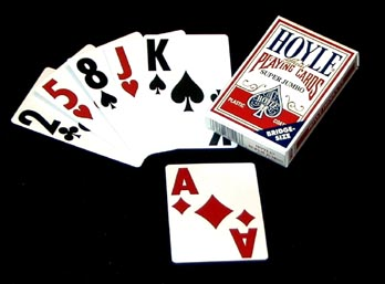 Hoyle Super Jumbo Playing Cards - Discontinued