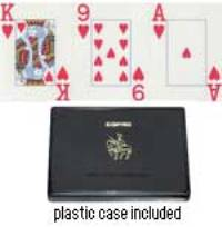 Jumbo Index Plastic Poker Playing Cards- Discontinued