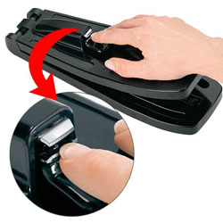 Press On Nail Clipper Designed For One Handed Use
