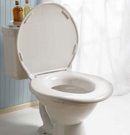 Big John Original Heavy Duty Toilet Seat King Size Commode Seat Cover