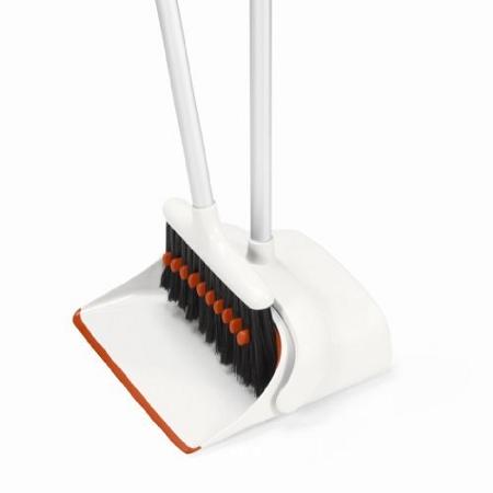 Good Grips Long Handle Broom Amp Dustpan Makes Cleaning Easier