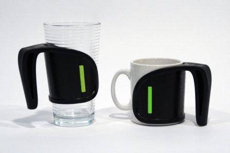 Vivi Duo Cup Holder Arthritis Friendly Handle For Cups Mugs