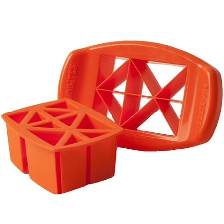 Funbites triangle food chopper curved blade food for Funbites