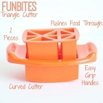 FunBites Triangle Food Chopper