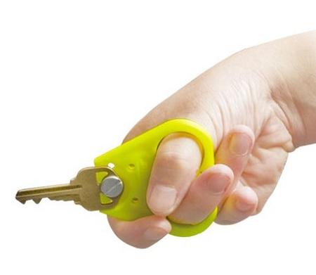 Finger Grip Key Turning Aid Paddle Style Key Holder