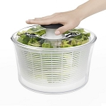 OXO Good Grips Salad Spinner 5 Quart Clear