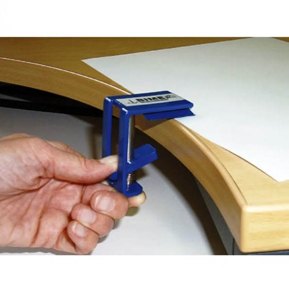 Peta Free Hand Desk Clamp Paper Holder Arthritis Writing Aid