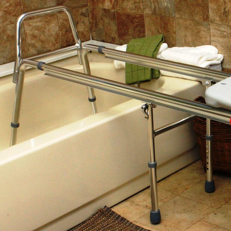 Xx Long Toilet To Tub Sliding Transfer Bench Extra Long Bath Safety Bench