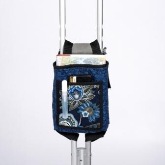 Printed Quilted Crutch Bag