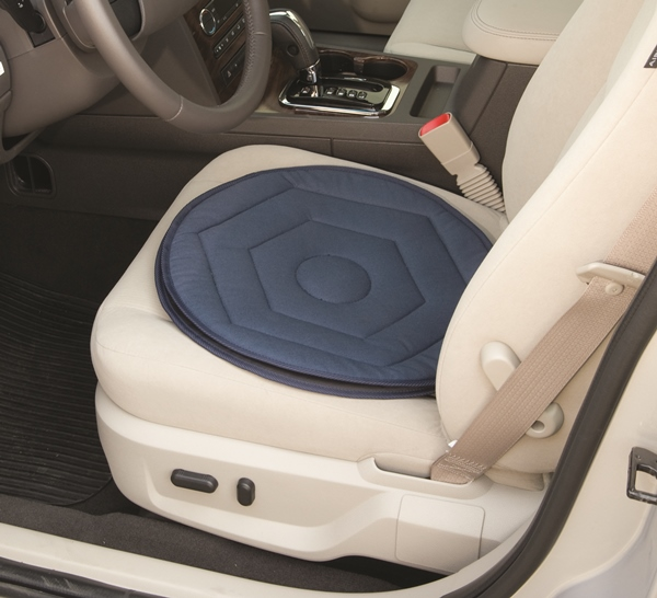 Swivel Car Seat >> Car Swivel Seat Cushion by Stander reduces hip, back pain for transfers
