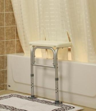 Bench Buddy Adapted Shower Curtain Whitaker :: for tub ...