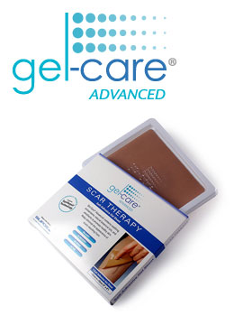 Gel Care Advanced Self-Adhesive Scar Therapy Sheets Box of 10