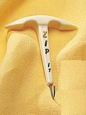 Zip It Zipper Pull