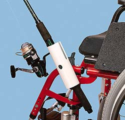 Fishing Pole Holder on Fishing Rod Holder For Wheelchairs Item Id Adm706631 Review This