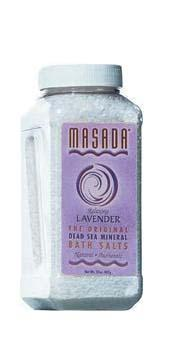 Masada Lavender Scented Dead Sea Mineral Bath Salt - Discontinued