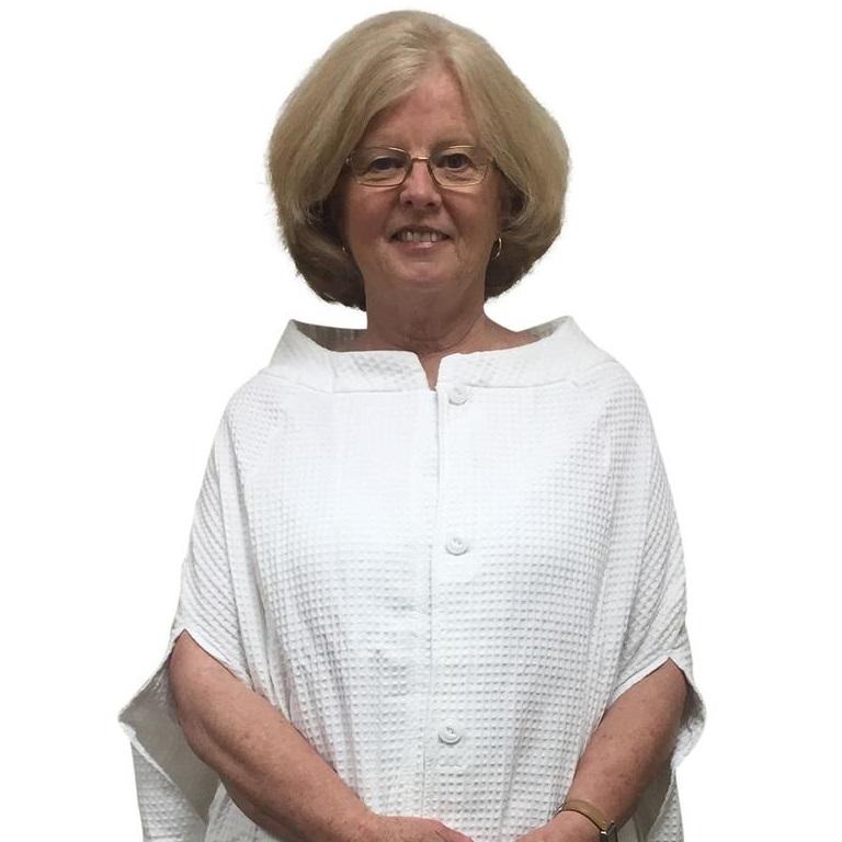 Granny Jo Waffle Weave Bath Cape Soft 100 Cotton After