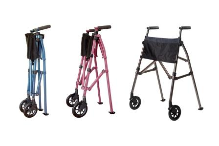 Ez Fold N Go Walker Mobility Walker For Users With Arthritis