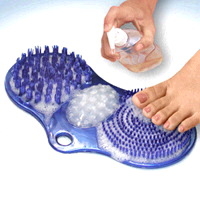 Soapy Soles Elite Foot Cleaner and Massager