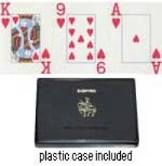 Jumbo Index Plastic Bridge Playing Cards - Discontinued