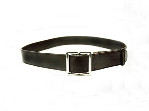 Adult Brown Leather Myself Belts