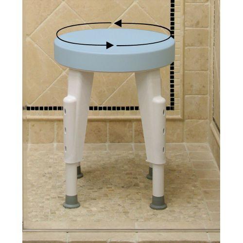Rotating-Round-Shower-Stool
