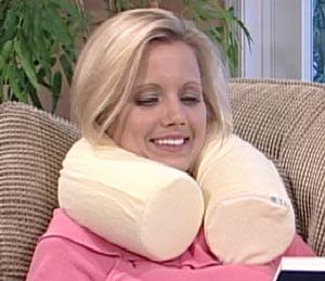 Contour-Twist-Pillow