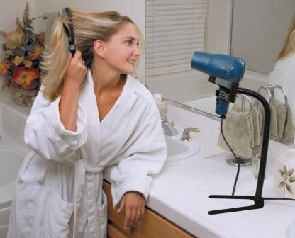 Hands Free Hair Dryer Stand Hair Dryer Holder Stand