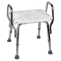 Snap-N-Save Shower Chair with Arm Rests