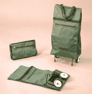 Knee Scooter For Sale >> Folding Shopping Bag with Wheels - Discontinued