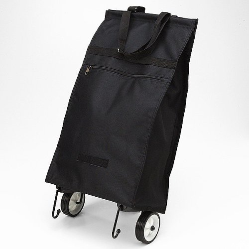 Folding Shopping Bag with Wheels - Discontinued