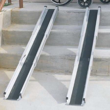Duro-Med Telescoping 5 Foot Wheelchair Ramps