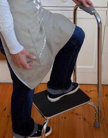 Dmi Step Stool With Hand Support Step Stool For Arthritis