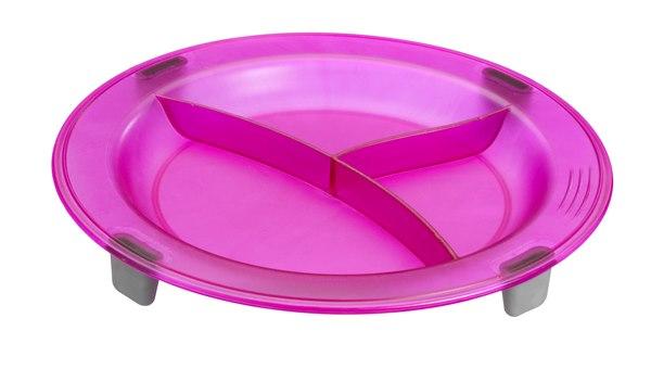 Eurodib 3 Compartment Non-Slip Plate
