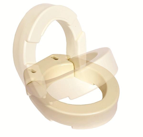 Essential Hinged Toilet Seat Riser 3 5 Inch High Riser