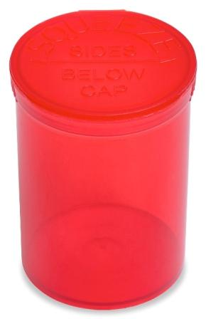 Red Easy Open Vials 4-Pack