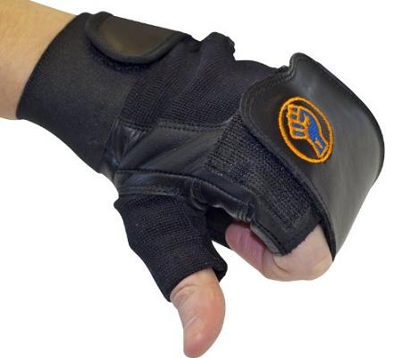 Gripeeze Fingerless Sports Glove Left Hand