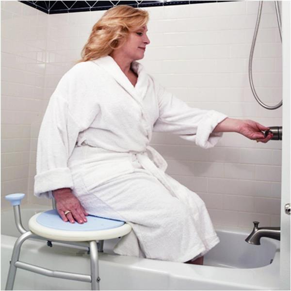 Juvo Comfort Tub Transfer Bench For Safe Tub Bath