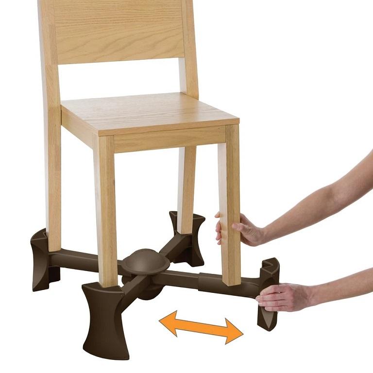 Kaboost Portable Chair Riser Raises 4 Legged Chairs For
