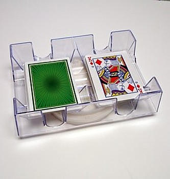 Revolving Playing Card Tray Makes Drawing Cards Easier