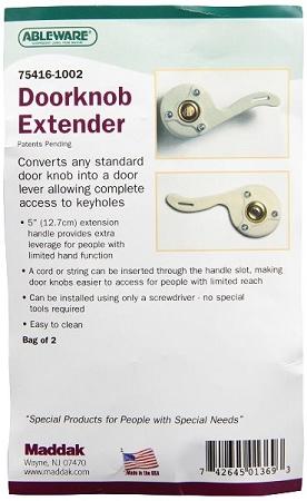 Doorknob Extender Package of 2