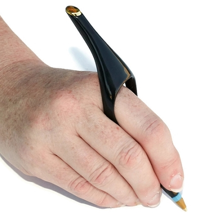 Holding Pencil With Ring Finger