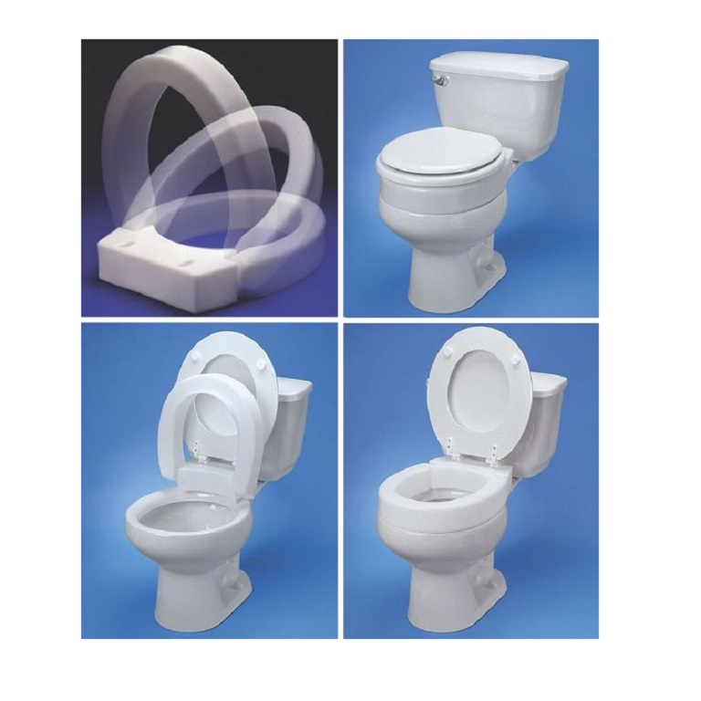 Pleasing Hinged Elevated Toilet Seat Pdpeps Interior Chair Design Pdpepsorg