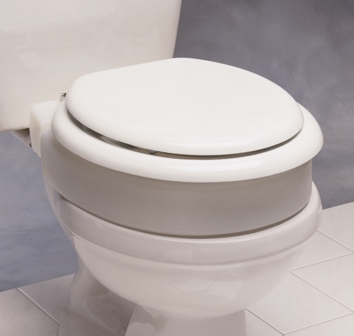 Hinged Elevated Toilet Seat Toilet Lift Seat For Users