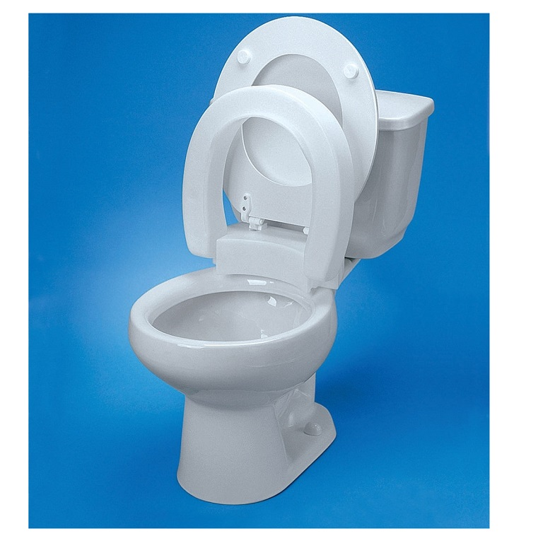 Hinged-Elevated-Toilet-Seat