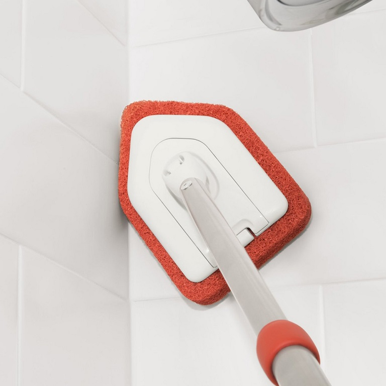 Extendable Tub Amp Tile Scrubber By Oxo Good Grips Comfort